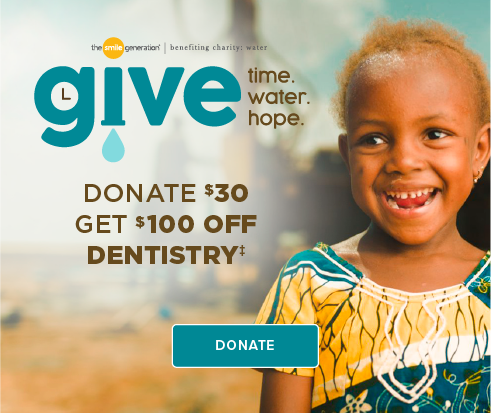 Donate $30, Get $100 Off Dentistry - Kent Smiles Dentistry